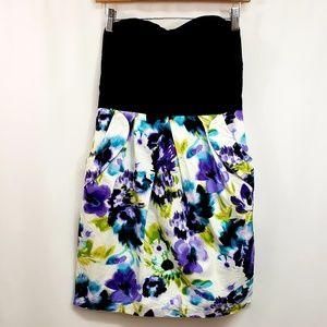 IZ Byer Strapless Dress with Pockets 9